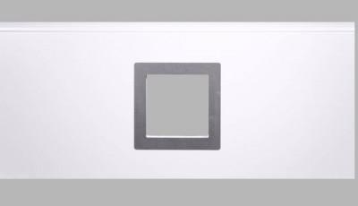 Okno čtvercové do sekce 290 x 290 mm