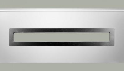 Okno obdélníkové do sekce 1000 x 170 mm